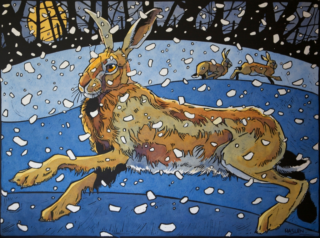 Winter Hare III